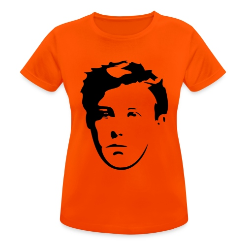 Arthur Rimbaud visage - T-shirt respirant Femme