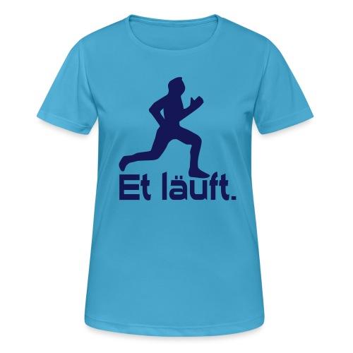 Et läuft Ruhrpott Läufer - Frauen T-Shirt atmungsaktiv