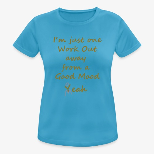Good Mood Quote design patjila - Women's Breathable T-Shirt