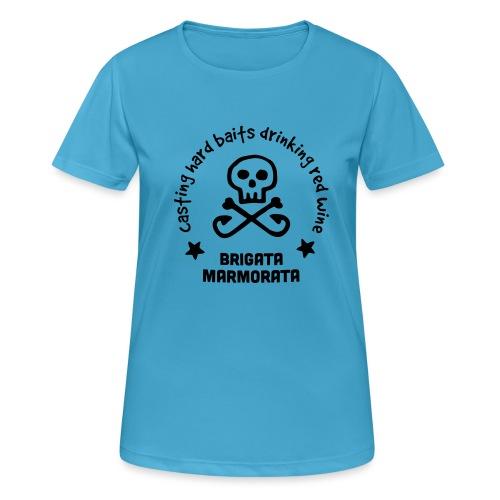 Brigata Marmorata - Maglietta da donna traspirante