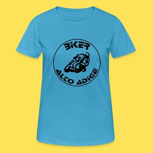 BikerAltoAdige circle logo Jacket - Maglietta da donna traspirante