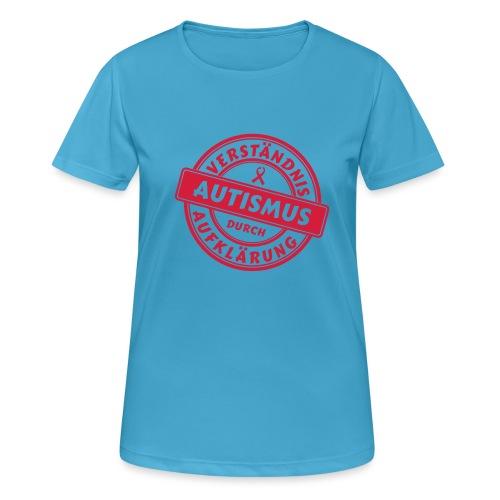 Verständnis durch Aufklärung - Frauen T-Shirt atmungsaktiv