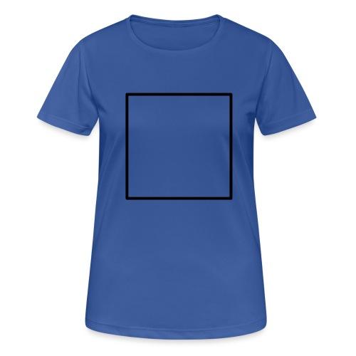 Square t shirt black - Vrouwen T-shirt ademend actief