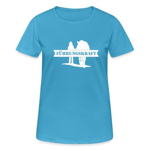 Vorschau: Führungskraft female - Frauen T-Shirt atmungsaktiv