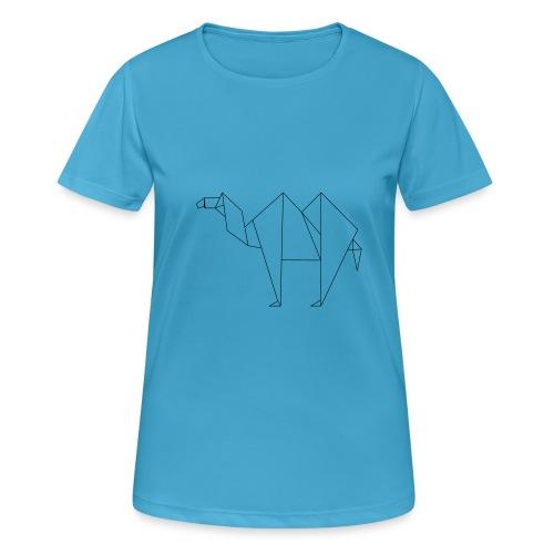 camel trace 1 origami - T-shirt respirant Femme