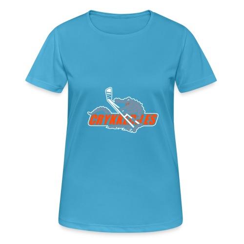 crykkedilescs - Dame T-shirt svedtransporterende