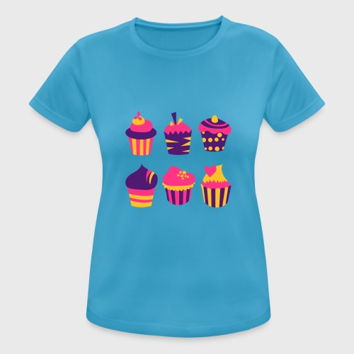 Cupcakes bien-être - T-shirt respirant Femme