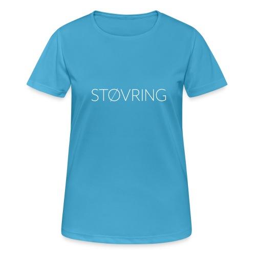 Støvring Plain - Dame T-shirt svedtransporterende