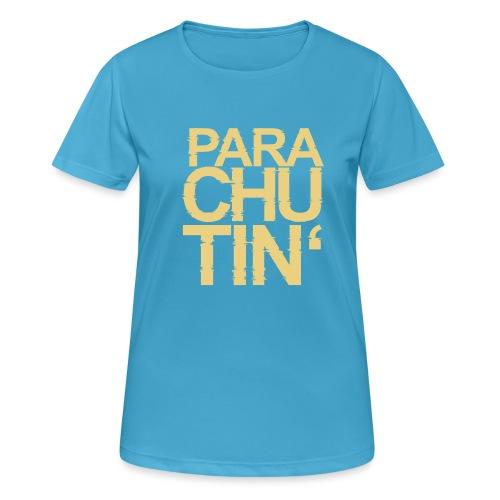 Parachute Glitch v2 - Frauen T-Shirt atmungsaktiv