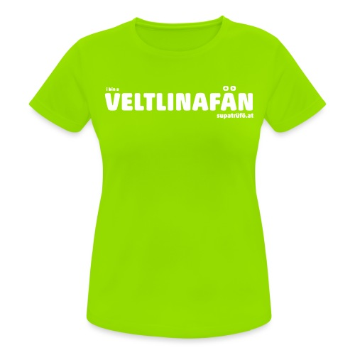 VELTLINAFAN - Frauen T-Shirt atmungsaktiv