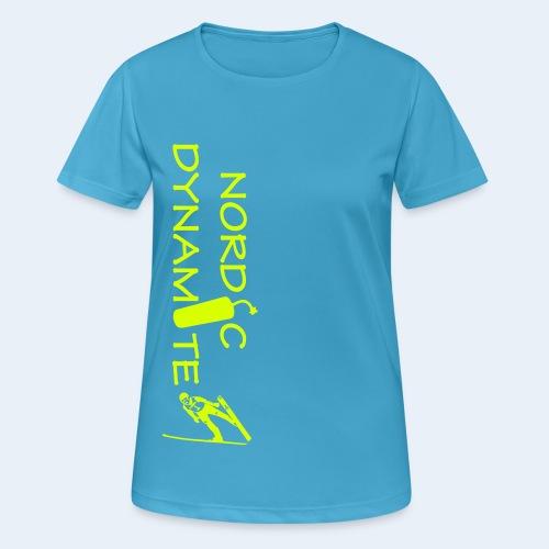 Dynamite quer Jump - Frauen T-Shirt atmungsaktiv