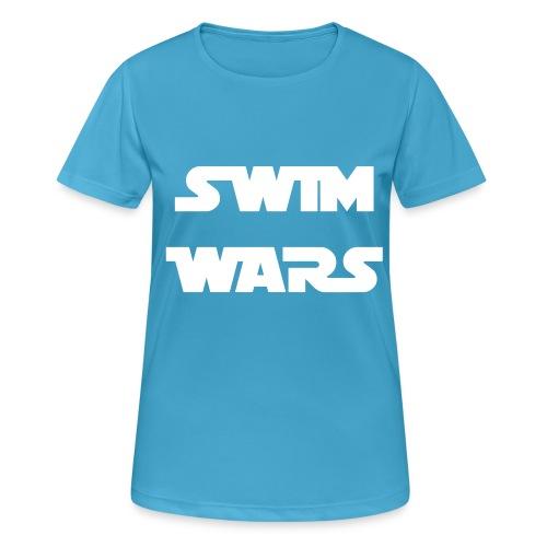 SWIM WARS - Maglietta da donna traspirante