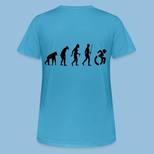 EvolutionWheelchair2 - vrouwen T-shirt ademend