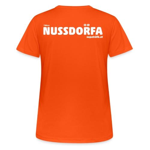 NUSSDORFA - Frauen T-Shirt atmungsaktiv