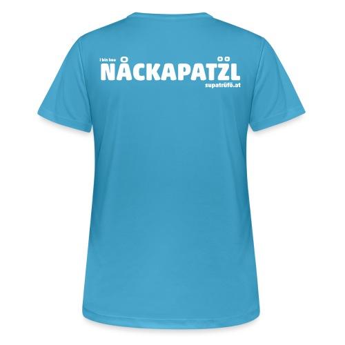 supatrüfö nackapatzl - Frauen T-Shirt atmungsaktiv