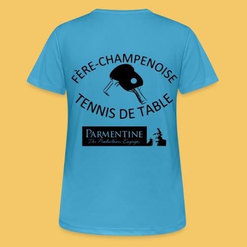 logoetpetisponsor - T-shirt respirant Femme