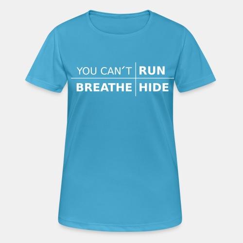 youcant+ vektor - Andningsaktiv T-shirt dam