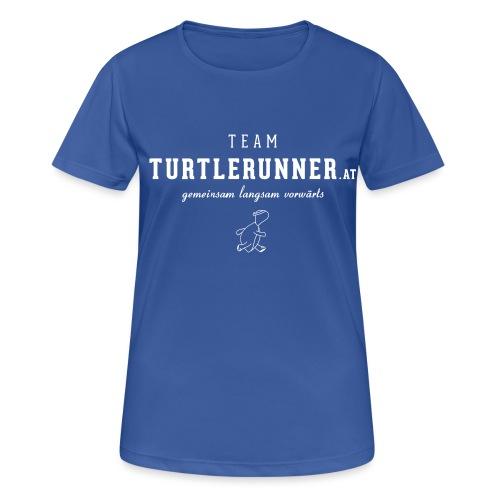 Team Shirt mit Daphne 7 - Frauen T-Shirt atmungsaktiv