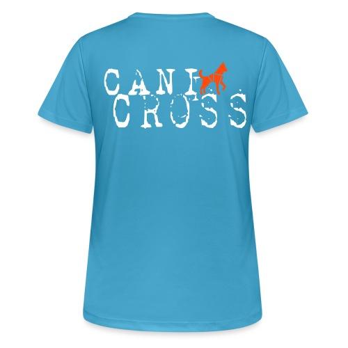 Canicross - Hunde Geschenk Zughund Laufsport Super - Frauen T-Shirt atmungsaktiv