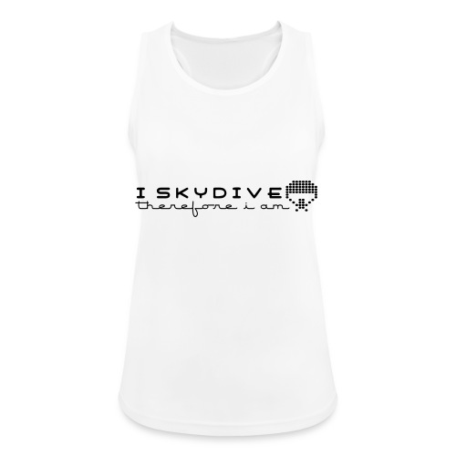 i_skydive_therefore_i_am - Women's Breathable Tank Top