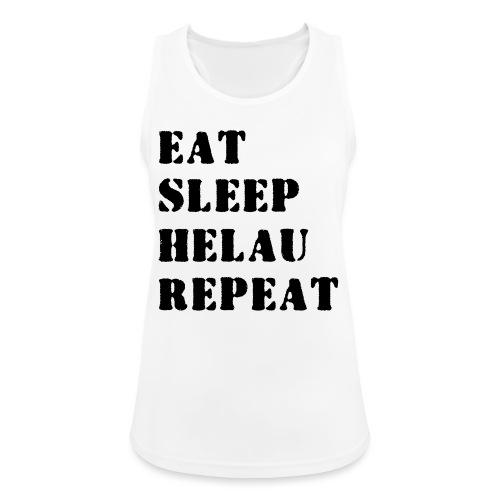 Eat Sleep Repeat - Helau VECTOR - Frauen Tank Top atmungsaktiv
