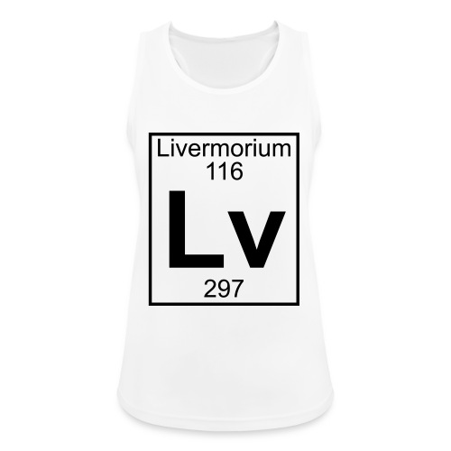 Livermorium (Lv) (element 116) - Women's Breathable Tank Top