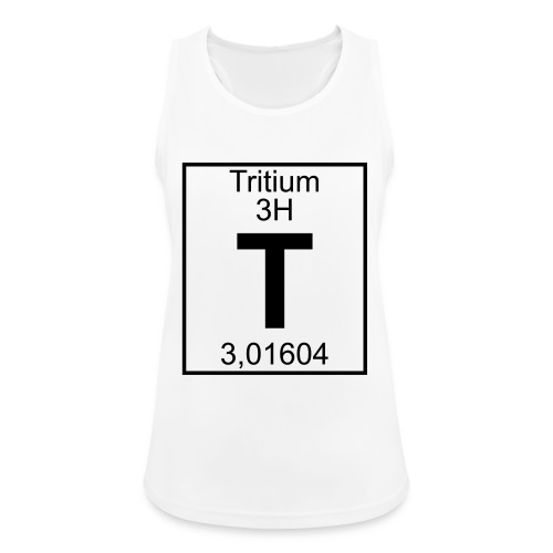 T (tritium) - Element 3H - pfll - Women's Breathable Tank Top