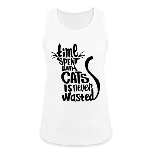 Cat - Vrouwen tanktop ademend actief