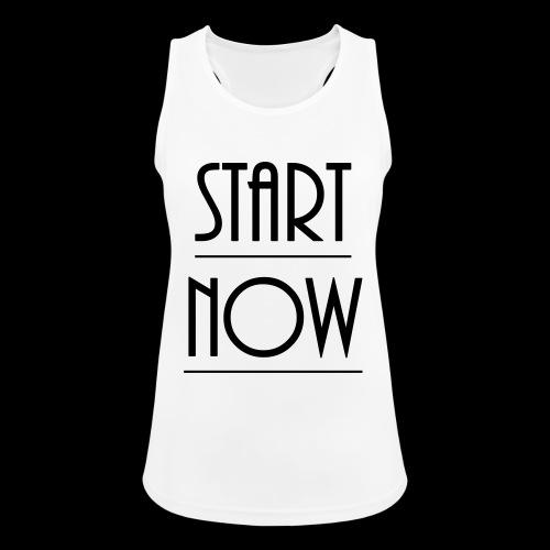 start now - Frauen Tank Top atmungsaktiv