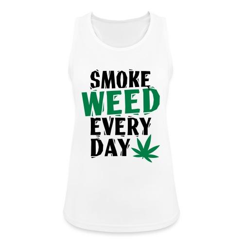 Smoke Weed Everyday Linovert - Débardeur respirant Femme