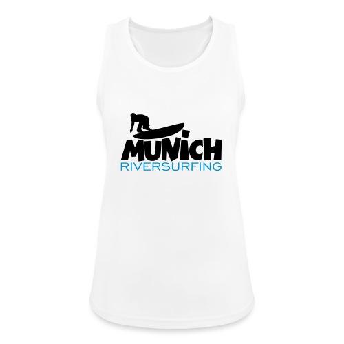 Munich Riversurfing München Surfer - Frauen Tank Top atmungsaktiv