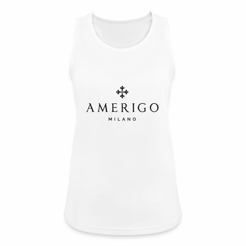 Amerigo Milano - Top da donna traspirante