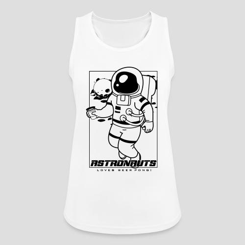 Astronauts loves Beerpong - Frauen Tank Top atmungsaktiv