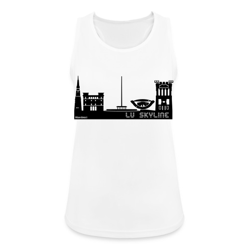 Lu skyline de Terni - Top da donna traspirante