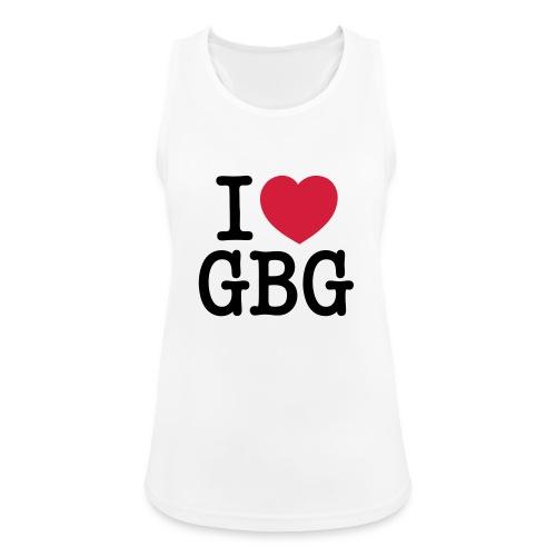 I love GBG - Andningsaktiv tanktopp dam