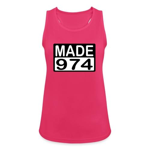 Made 974 - v2 - Débardeur respirant Femme
