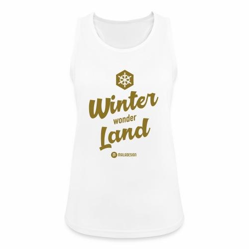Winter Wonder Land - Naisten tekninen tankkitoppi