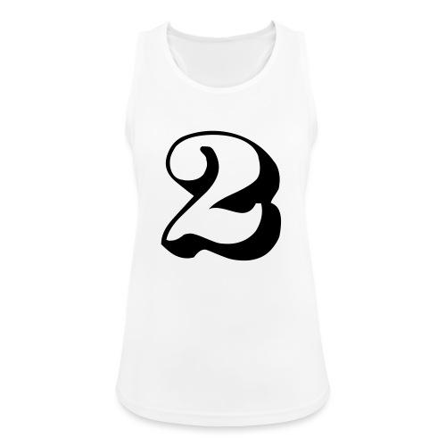 cool number 2 - Vrouwen tanktop ademend actief