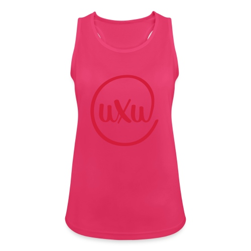 UXU logo round - Women's Breathable Tank Top