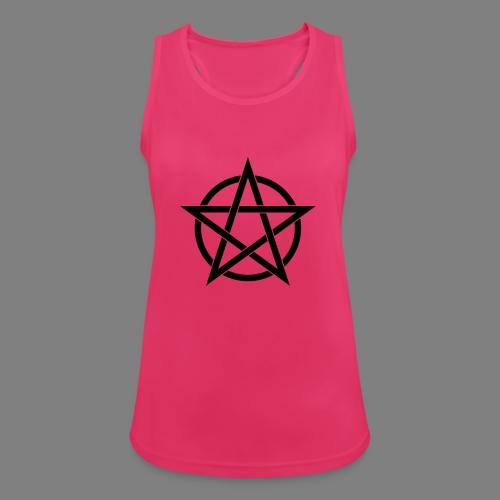 pentagramm - Frauen Tank Top atmungsaktiv