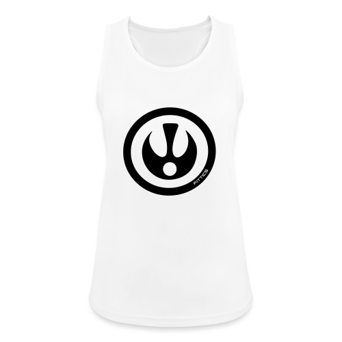FITTICS SHIELD White - Women's Breathable Tank Top