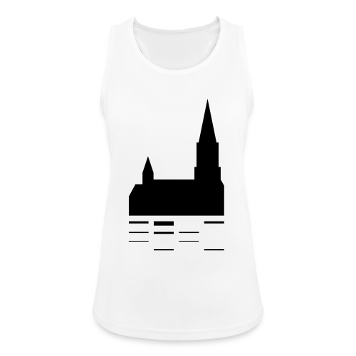 Unser Ulm Logo Black - Frauen Tank Top atmungsaktiv