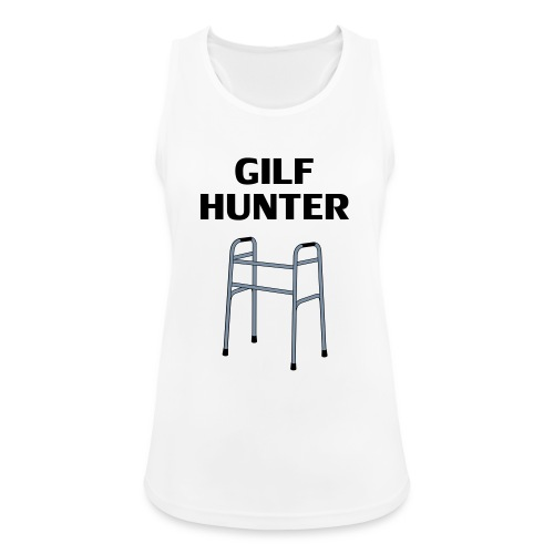 GILF Hunter - Frauen Tank Top atmungsaktiv