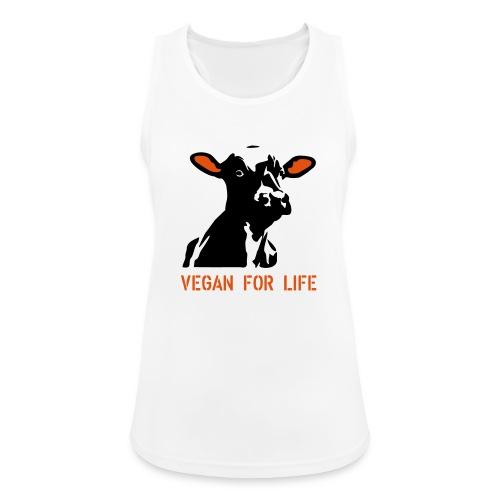 colorida vegan for life - Frauen Tank Top atmungsaktiv