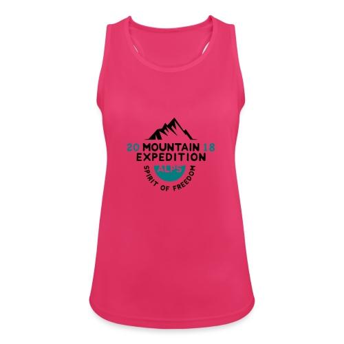MOUNTAIN EXPECTION - ALPS - Top da donna traspirante