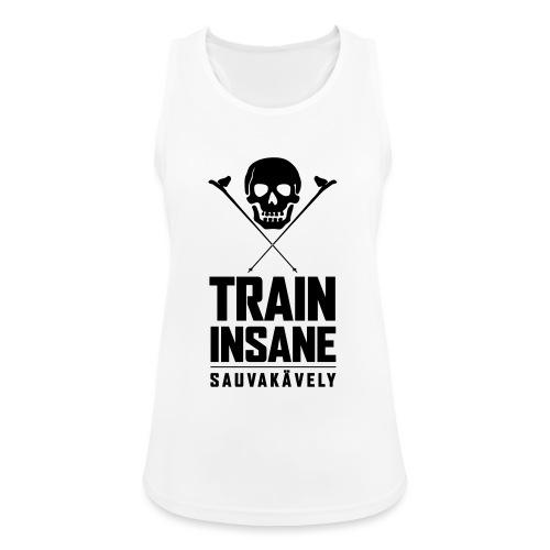 Sauvakävely - Skull t-shirt - Naisten tekninen tankkitoppi