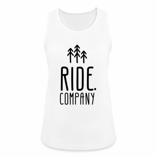 RIDE.company Logo - Frauen Tank Top atmungsaktiv