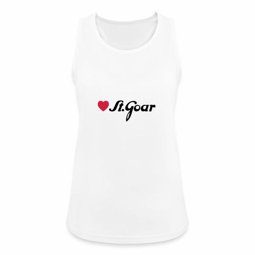 Herz für St. Goar - Frauen Tank Top atmungsaktiv