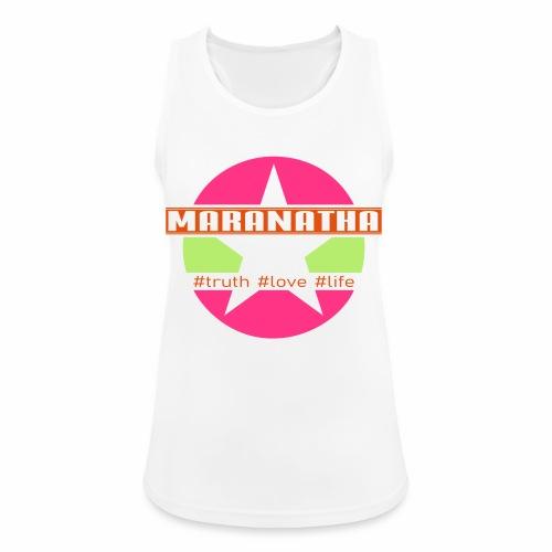 maranatha rosa-grün - Frauen Tank Top atmungsaktiv