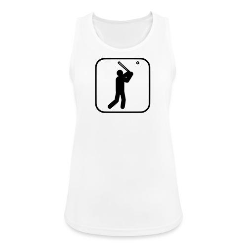 Baseball Symbol - Frauen Tank Top atmungsaktiv